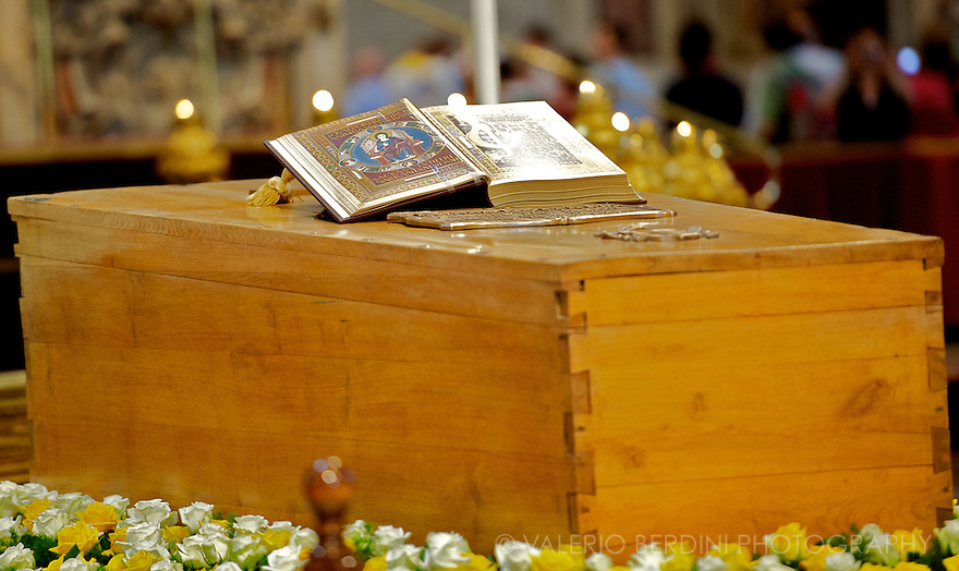 Karol Wojtyla wanted the most basic coffin for his funeral in 2005