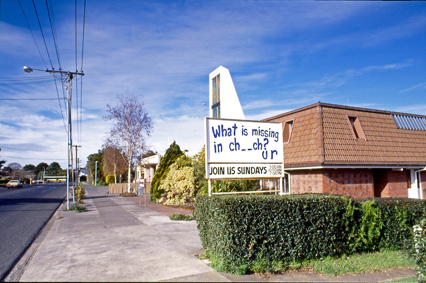 Missing in Church, Mangere 1986