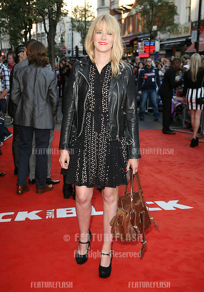 Edith Bowman attending the UK Premiere of Attack The Block at Vue Leicester Square, London. 04/05/2011  Picture by: Alexandra Glen / Featureflash