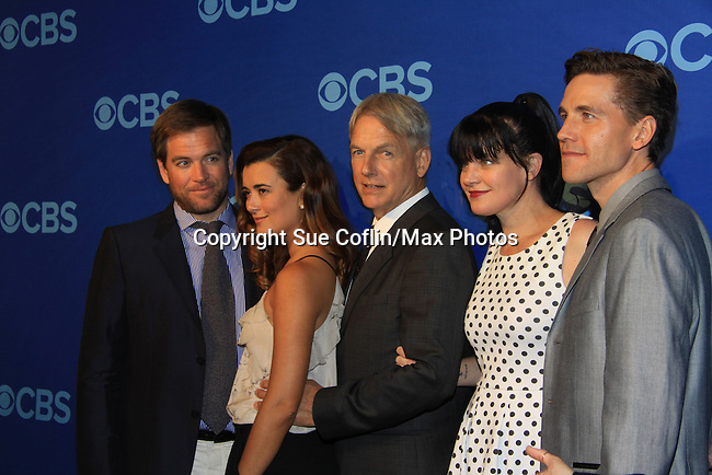 at the CBS Upfront on May 15, 2013 at Lincoln Center, New York