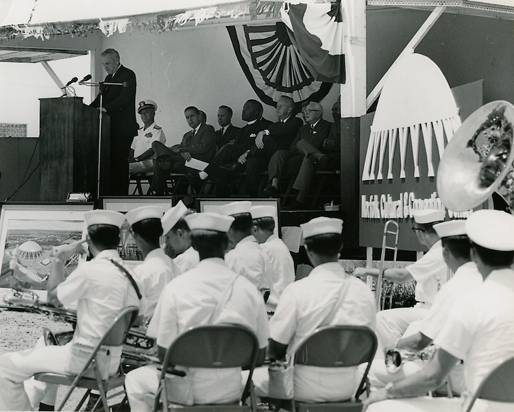 1968 June 06..Redevelopment...Downtown North (R-8)..Scope Cultural and Convention Center Groundbreaking Ceremony..Sam McKay.NEG# SLM68-44-14..