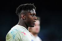 Maro Itoje of England looks on after the match. RBS Six Nations match between England and Ireland on February 27, 2016 at Twickenham Stadium in London, England. Photo by: Patrick Khachfe / Onside Images