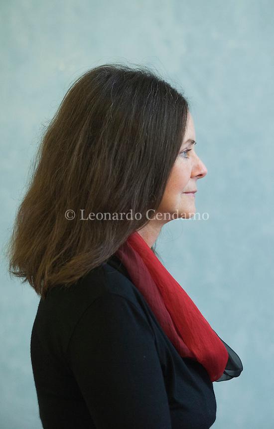 Geraldine Brooks (Sydney, 14 settembre 1955) è una scrittrice e giornalista australiana, vincitrice del Premio Pulitzer per la narrativa nel 2006 con il romanzo  L'Idealista. Pordenonelegge settembre 2016.  © Leonardo Cendamo