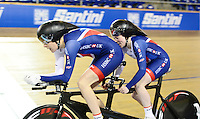 Picture by Simon Wilkinson/SWpix.com - 02/03/2017 - Cycling 2017 UCI Para-Cycling Track World Championships, Los Angeles USA - FACHIE Lora <br />