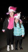 20/11/13<br /> Fans Kerri Callan (12) and Lisamaria Casey (6) pictured arriving to the Cheerios Childline Concert at the O2 Dublin this evening&hellip;.<br /> Pic Collins Photos