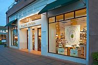 Williams Sonoma, The Gardens,  El Paseo Drive,  Palm Desert, CA, Kitchen ware; famous; retailers; near Palm Springs; Palm Trees; California; Coachella Valley; Desert;