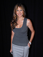Melania Trump attends the cocktail party to announce the partnership between Donald Trump and Jerry Powers on TRUMP Magazine at Trump Tower in New York City on September 25, 2007. © RTDziekan / MediaPunch