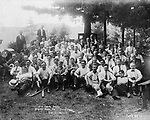 Pequot Hose Co. second annual outing at Amity Grove, Septe,ber 12-15, 19?