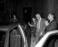 Roma 1983 . Gianni Agnelli ,Fiat SpA