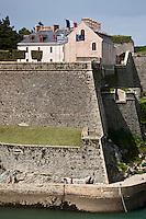 Europe/France/Bretagne/56/Morbihan/ Belle-Ile-en-Mer/Le Palais: Citadelle Vauban qui abrite un musée et un Hôtel de Charme
