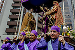 Catholics celebrate Holy week in Medellin, Colombia