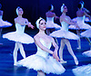 English National Ballet<br /> Swan Lake in-the-round  <br /> Royal Albert Hall, London, Great Britain <br /> 31st May 2016  <br /> rehearsals <br /> <br /> corps de ballet - swans <br /> <br /> <br /> Photograph by Elliott Franks <br /> Image licensed to Elliott Franks Photography Services