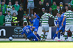 St Johnstone v Celtic..30.10.10  .Anthony Stokes opens the scoring.Picture by Graeme Hart..Copyright Perthshire Picture Agency.Tel: 01738 623350  Mobile: 07990 594431