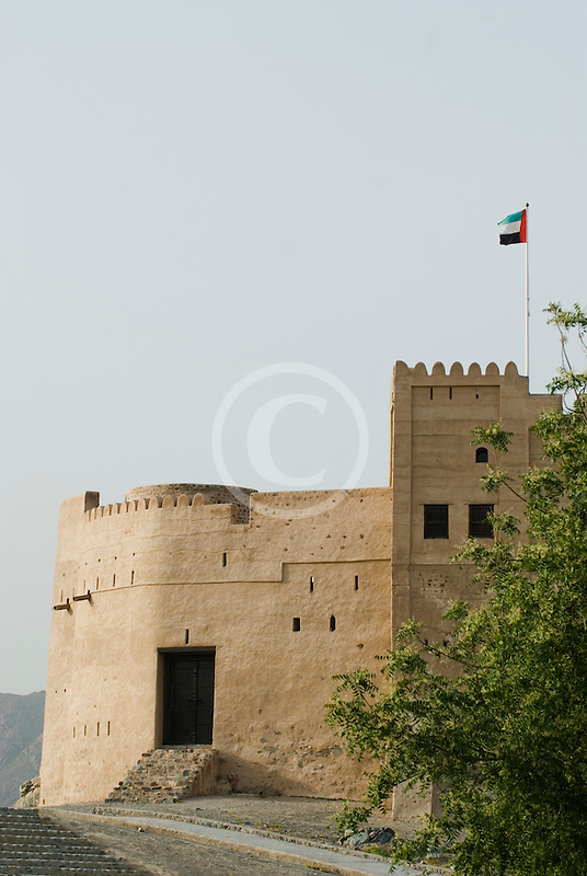 United Arab Emirates, Fujairah, Fujairah Fort, built in 1670, oldest fort in the Emirates