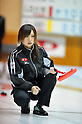 Shiori Nakase (Nayoro Association),..FEBRUARY 10, 2011 - Curling : The 28th Zennou Japan Curling Championship at Sunpillar Park curling hall, Hokkaido, Japan. (Photo by Jun Tsukida/AFLO SPORT)[0003]