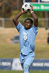 12 November 2008: UNC's Eddie Ababio. The University of Maryland defeated the University of North Carolina 1-0 at Koka Booth Stadium at WakeMed Soccer Park in Cary, NC in a men's ACC tournament quarterfinal game.