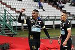 Once Caldas goleó 4-0 al Atlético Huila en el estadio Palogrande de Manizalez, por la fecha 11 del Torneo Clausura Colombiano 2015.