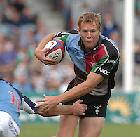 2005_06 National Division One, NEC Harlequins vs Newbury, Gavin Duffy, run's with the ball. Twickenham Stoop: 17.09.2005   © Peter Spurrier/Intersport Images - email images@intersport-images..