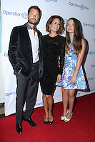 David Charvet, Brooke Burke Charvet, Neriah Fisher Burke<br /> Operation Smile Gala, Beverly Wilshire, Beverly Hills, CA 09-19-14<br /> David Edwards/DailyCeleb.com 818-249-4998