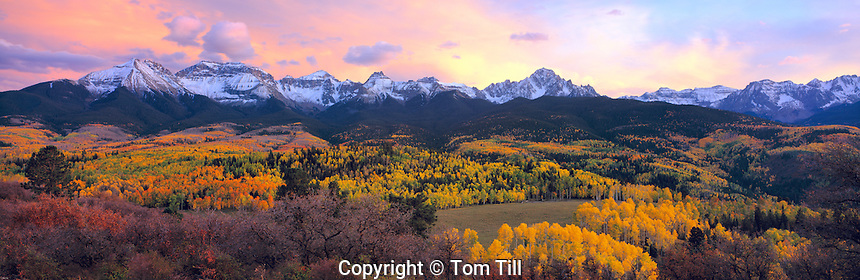 Sneffels Range in Autumn, San Juan Mountains, Colorado