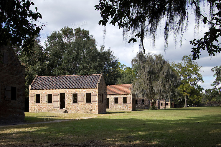 Boone Hall Plantation Slave Houses Charleston South Carolina