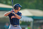 1 September 2013: Connecticut Tigers outfielder Ben Verlander in action against the Vermont Lake Monsters at Centennial Field in Burlington, Vermont. The Lake Monsters fell to the Tigers 6-4 in 10 innings of NY Penn League action. Mandatory Credit: Ed Wolfstein Photo *** RAW Image File Available ****