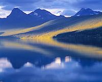 Lake McDonald Reflections, Glacier National Park, Montana   Rocky Mountains