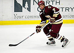 18 October 2009: Boston College Eagle defenseman Carl Sneep, a Senior from Nisswa, MN, in action during the third period against the University of Vermont Catamounts at Gutterson Fieldhouse in Burlington, Vermont. The Catamounts defeated the visiting Eagles 4-1. Mandatory Credit: Ed Wolfstein Photo