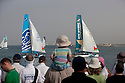Extreme Sailing Series 2012. Act 1.Oman.Final day of racing close to the shore.The Wave Muscat. ...Credit: Lloyd Images