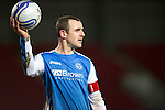 St Johnstone v Aberdeen.....30.01.13      SPL.Dave Mackay.Picture by Graeme Hart..Copyright Perthshire Picture Agency.Tel: 01738 623350  Mobile: 07990 594431