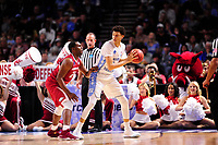 NWA Democrat-Gazette/J.T. WAMPLER North Carolina beat Arkansas 72-65 Sunday March 19, 2017 during the second round of the NCAA Tournament at the Bon Secours Wellness Arena in Greenville, South Carolina.