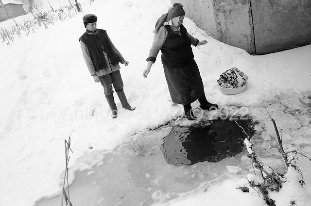 Transylvania, Romania<br /> December 1991