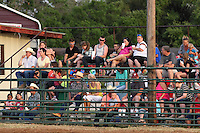 Rodeo fans at the Riata Roundup.