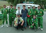 BRSCC rescue crew July 1993 Cadwell Park