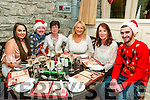 Centra Listowel Xmas Party: members of the staff of Centra foodstore, Listowel enjoying their Christmas party at Behan's Horseshoe Bar & Restaurant on Friday night last. L-R: Clodagh Landy, Danny Flavin, Mary O'Donoghue, Madeline Collins, Betty Kelly & Aidan Galvin.