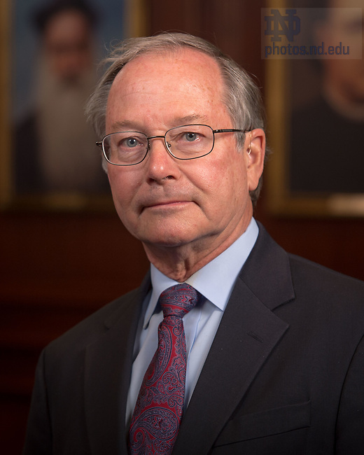 April 12, 2017; Thomas Kselman, Emeritus faculty portrait (Photo by Matt Cashore/University of Notre Dame)