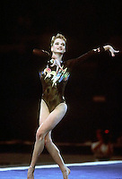 July 26, 1998; New York, NY, USA; Artistic gymnast Svetlana Khorkina of Russia performs gala exhibition at 1998 Goodwill Games New York. Copyright 1998 Tom Theobald