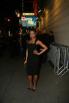 Candice Marie Woods Outside of Catch Me If You Can Opening Night on Broadway, 4/10/11