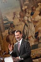 King Felipe VI of Spain Visits Burgos