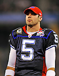 7 December 2008: Injured Buffalo Bills' quarterback Trent Edwards looks out from the sidelines during the first regular season NFL game ever played in Canada. The Miami Dolphins defeated the Bills 16-3 at the Rogers Centre in Toronto, Ontario. ..Mandatory Photo Credit: Ed Wolfstein Photo