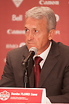 Benito Floro - Canadian Men's Team Head Coach  - Canada Soccer Association - July 5, 2013