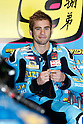 May 1, 2010 - Jerez, Spain -  Rizla Suzuki MotoGP Team's Spanish Alvaro Bautista takes in his box during Spanish Grand Prix on May 1, 2010. (Photo Andrew Northcott/Nippon News).