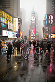 New York, New York<br /> Times Square<br /> March 20, 2015<br /> <br /> Times Square in the snow.