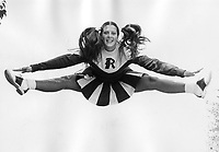 Rogers High School Cheerleader Martha Harris 1975-1976.