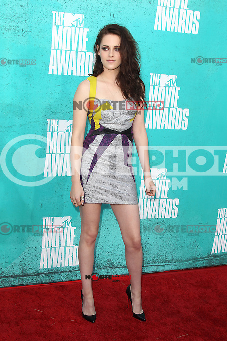 Kristen Stewart at the 2012 MTV Movie Awards held at Gibson Amphitheatre on June 3, 2012 in Universal City, California. © mpi29/MediaPunch Inc.