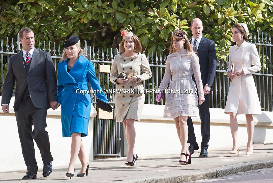 Kate Middleton Joins Royals For Easter Service, Windsor