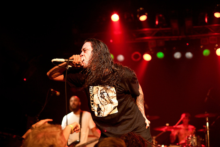 September 7, 2012. Raleigh, North Carolina.. Trash Talk, Lincoln Theatre.