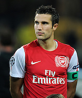 FUSSBALL   CHAMPIONS LEAGUE   SAISON 2011/2012  Borussia Dortmund - Arsenal London        13.09.2001 Robin VAN PERSIE (Arsenal Arsenal)
