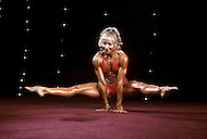 Atlantic City, NJ, April, 24, 1981. Kay Baxter-Wick at the Women's World Bodybuilding Championships.