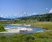 Buffalo Fork, Snake River, Grand Tetons, Jackson Hole, Wyoming